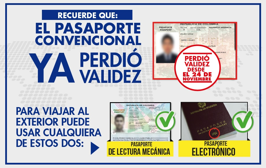 C mo sacar el pasaporte en colombia for Puedo ir a cualquier oficina del inem